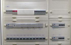 Armoire électrique câblée en atelier