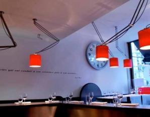 Eclairage restaurant Le Fourneau à Bruxelles