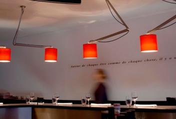 Eclairage restaurant Le Fourneau